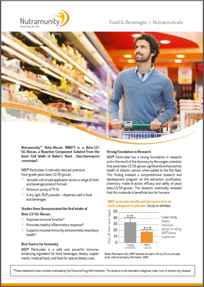 Food sector sheet